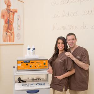 Dott. Ft. Maurizio Corini e Dott.ssa Ft. Stefania Sebberu